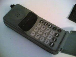 my first cell phone in 1996