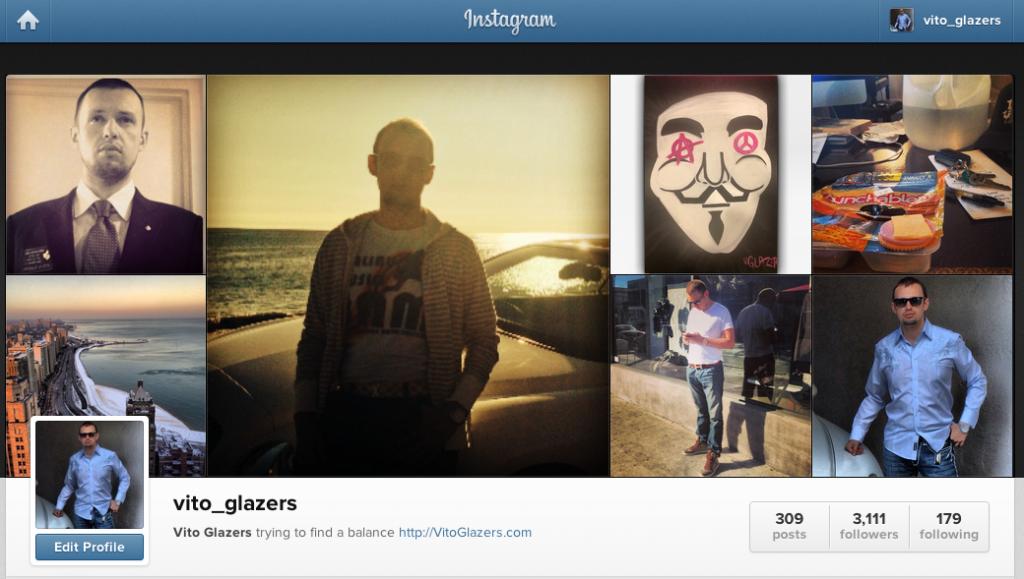 vito glazers instagram images