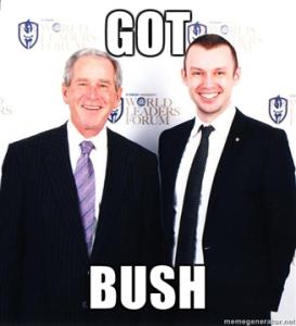 vito glazers and president george w bush
